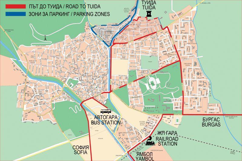 Karta 2019 Karta Na Vilna Zona Sliven