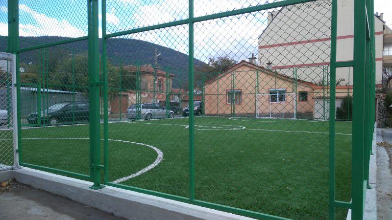 Нова спортна площадка е въведена в експлоатация