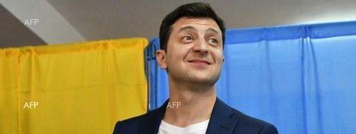 Зеленски е новият президент на Украйна